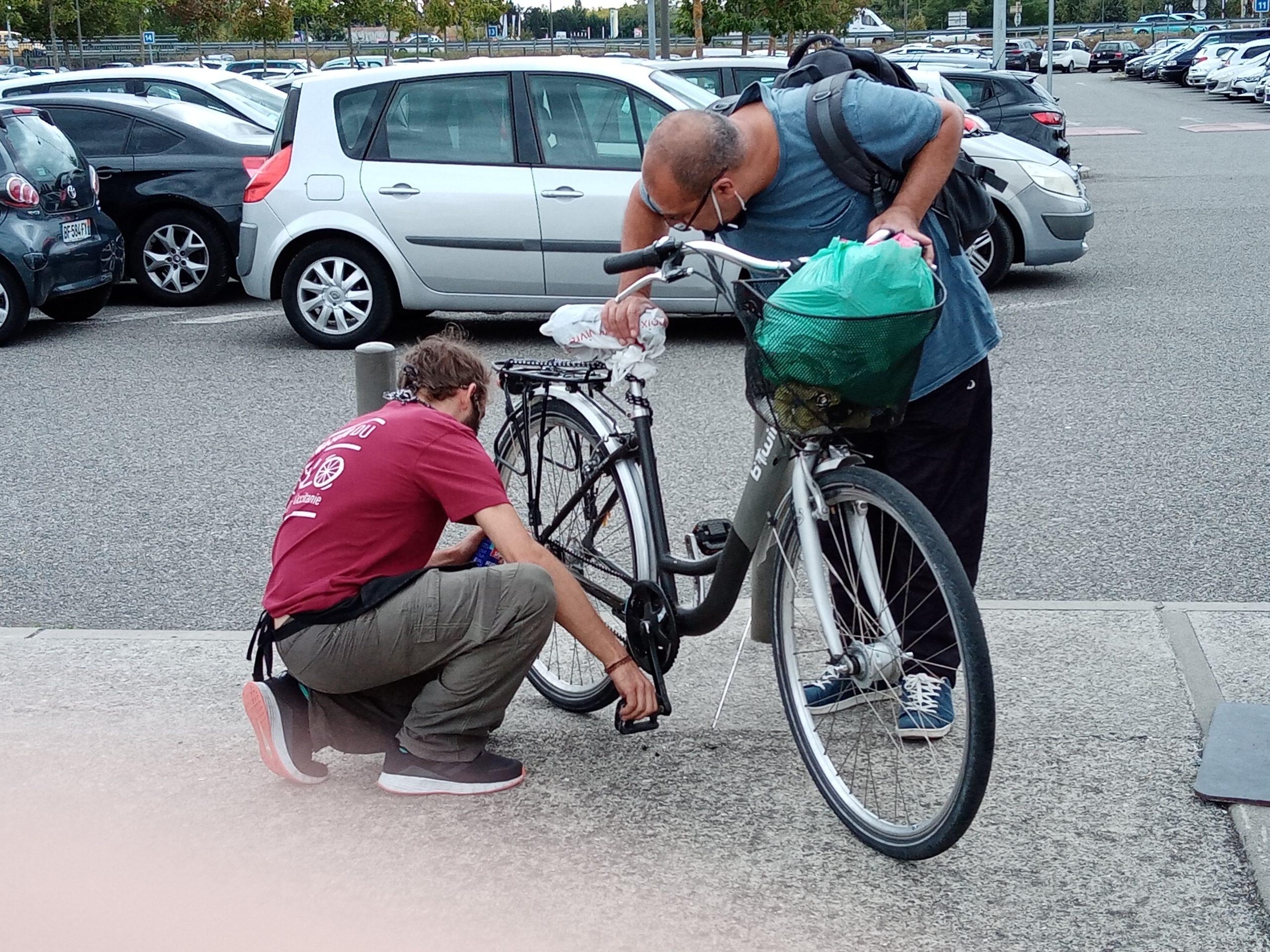réparation vélo station v labège
