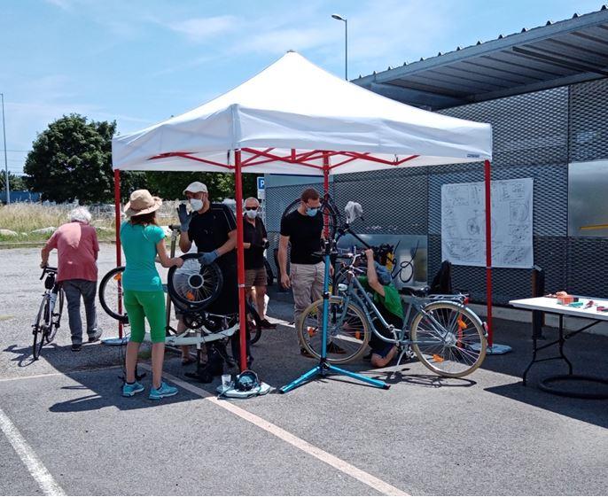 Station V Labège Pause Vélo